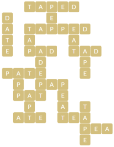 Wordscapes Valley 16 level 16448 answers