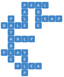 Wordscapes View 9 level 14937 answers