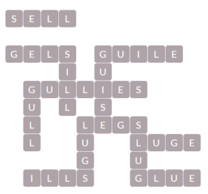 Wordscapes Wall 14 Level 13950 Answers