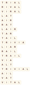 Wordscapes Wild 3 level 8787 answers
