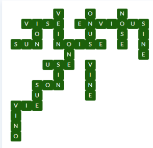 Wordscapes Wild 8 Level 12920 Answer