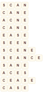 Wordscapes Wood 2 level 8834 answers