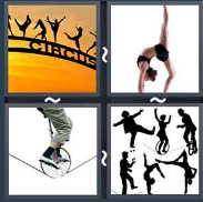 4 Pics 1 Word Level 1436 Answers