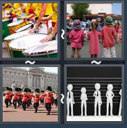 4 Pics 1 Word Level 1442 Answers