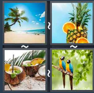 4 Pics 1 Word Level 1468 Answers