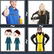4 Pics 1 Word Level 1485 Answers