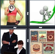 4 Pics 1 Word Level 2856 Answers