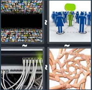 4 Pics 1 Word Level 2861 Answers