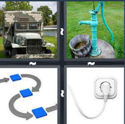 4 Pics 1 Word Level 2863 Answers