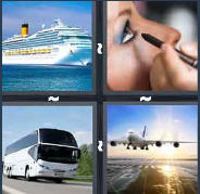 4 Pics 1 Word Level 2869 Answers