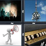 4 Pics 1 Word Level 2870 Answers