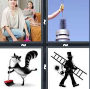 4 Pics 1 Word Level 2874 Answers