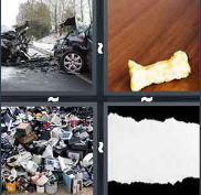 4 Pics 1 Word Level 2876 Answers