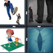 4 Pics 1 Word Level 2882 Answers