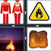 4 Pics 1 Word Level 2905 Answers