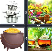 4 Pics 1 Word Level 2973 Answers