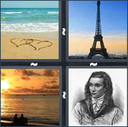 4 Pics 1 Word Level 2985 Answers