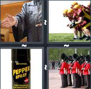 4 Pics 1 Word Level 2996 Answers