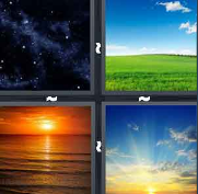 4 Pics 1 Word Level 3015 Answers