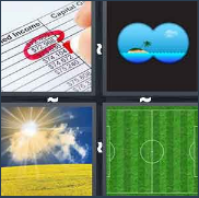4 Pics 1 Word Level 3087 Answers