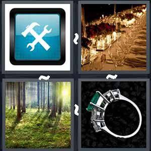 4 Pics 1 Word Level 357 Answers
