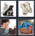 4 Pics 1 Word Level 4333 Answers