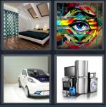 4 Pics 1 Word Level 4374 Answers