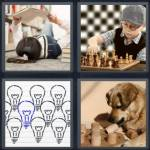 4 Pics 1 Word Level 4391 Answers