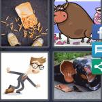 4 Pics 1 Word Level 4487 Answers