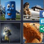 4 Pics 1 Word Level 4606 Answers