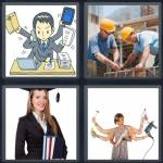 4 Pics 1 Word Level 4727 Answers