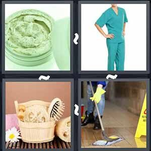 4 Pics 1 word Level 230 Answers
