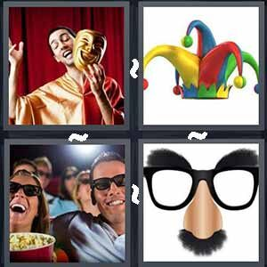 4 Pics 1 word Level 233 Answers