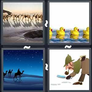 4 Pics 1 word Level 234 Answers