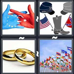 4 Pics 1 word Level 237 Answers
