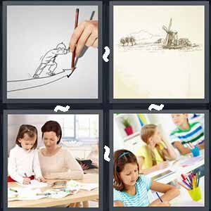 4 Pics 1 word Level 239 Answers