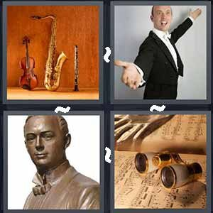 4 Pics 1 word Level 254 Answers