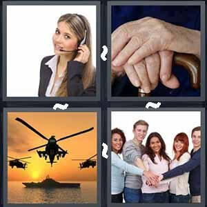 4 Pics 1 word Level 263 Answers