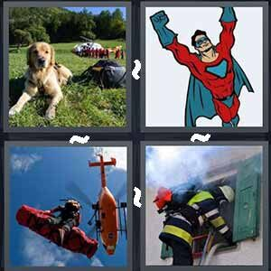 4 Pics 1 word Level 269 Answers