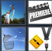4 Pics 1 word Level 95 Answers