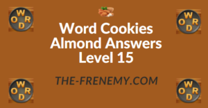 Word Cookies Almond Answers Level 15