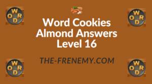 Word Cookies Almond Answers Level 16