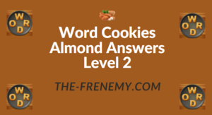Word Cookies Almond Answers Level 2
