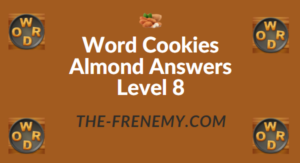 Word Cookies Almond Answers Level 8