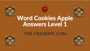 Word Cookies Apple Answers Level 1