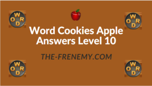 Word Cookies Apple Answers Level 10