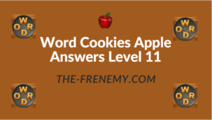 Word Cookies Apple Answers Level 11