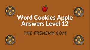 Word Cookies Apple Answers Level 12