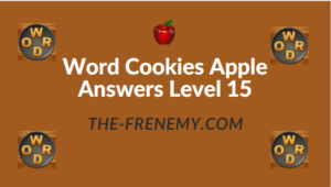 Word Cookies Apple Answers Level 15