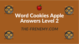 Word Cookies Apple Answers Level 2